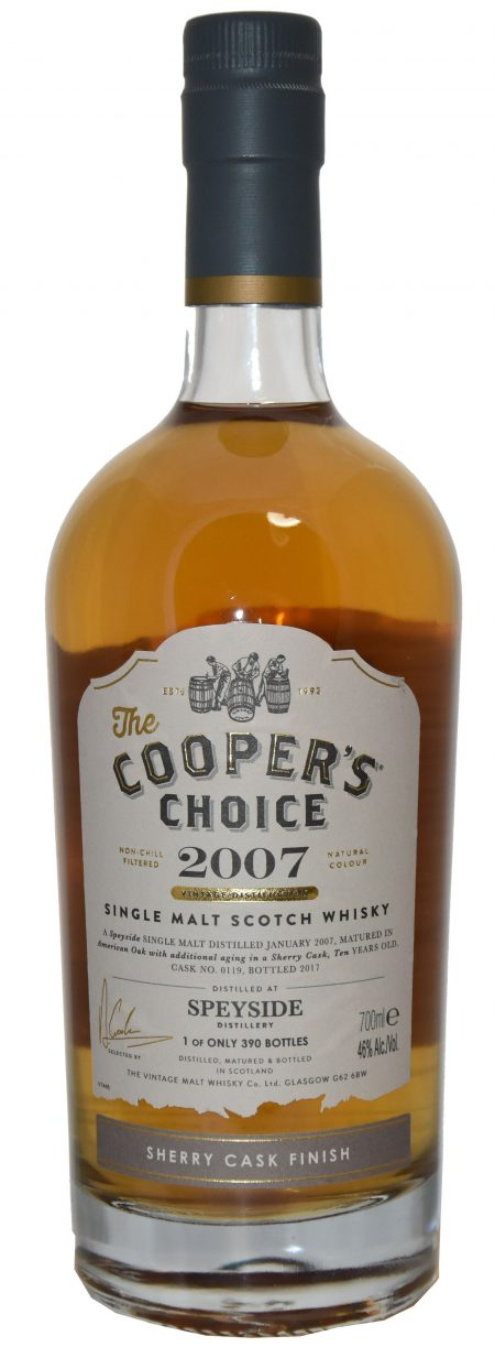 Spyside, 10 ans, Cooper's Choice